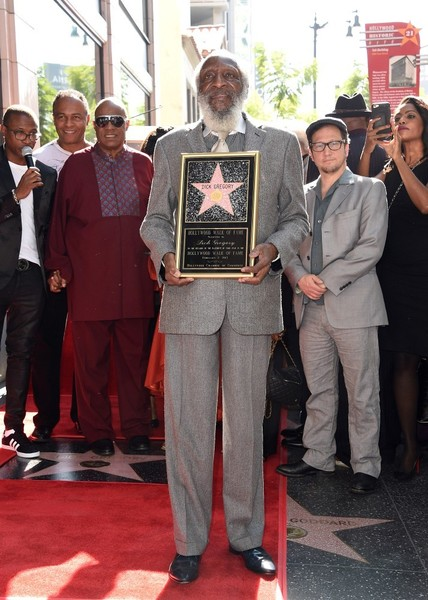 Dick Gregory Walk of Fame Ceremony