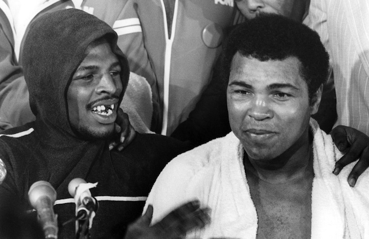 Leon Spinks and Muhammad Ali