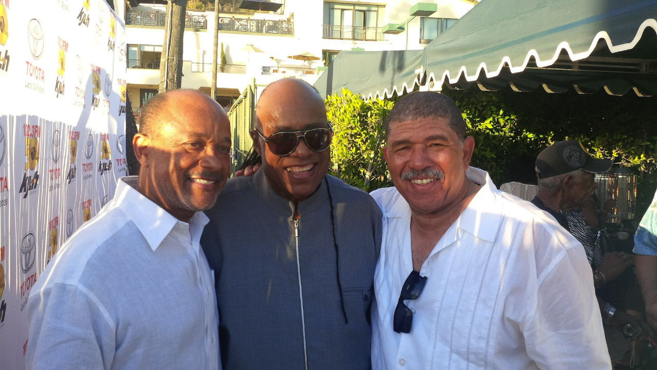 Rod McGrew, Stevie Wonder, & Ted Terry