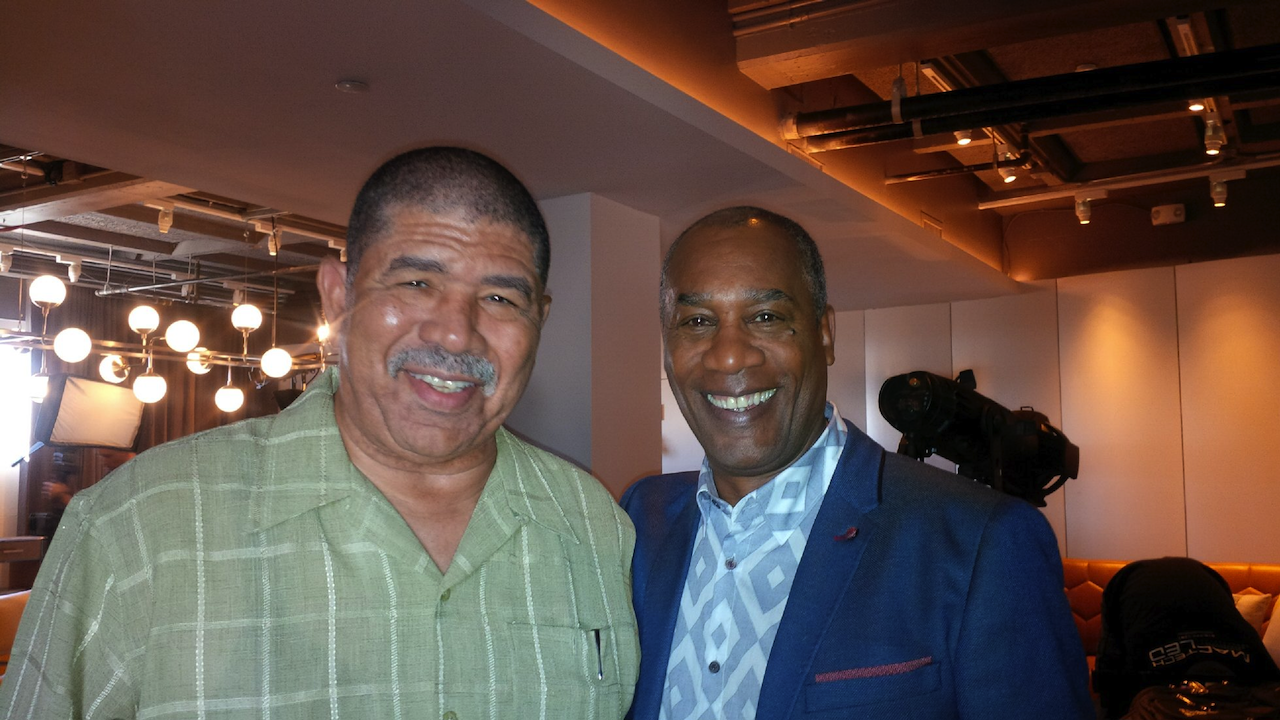 Ted Terry & Actor Joe Morton